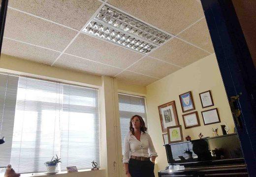 """O Concello de Noia dota dun novo alumeado LED ás aulas do Conservatorio Municipal """"Felipe Paz Carbajal"""""""