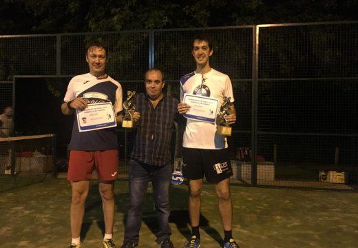 Manuel Rey Alvela e Carlos García Troncoso gañan o XI Campionato de Pádel do Concello de Frades