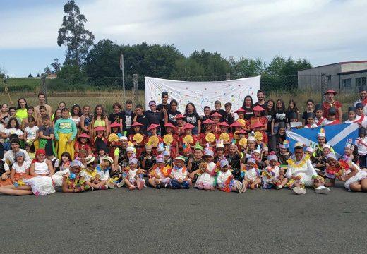 Case 170 nenas e nenos participaron nas actividades de conciliación do programa Verán Activo do Concello de Boqueixón