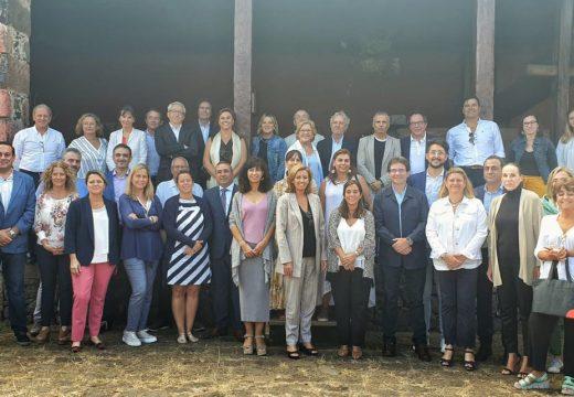Inés Rey defende a marca atlántica e a gastronomía sustentable no foro de Saborea España que se celebra en Tenerife