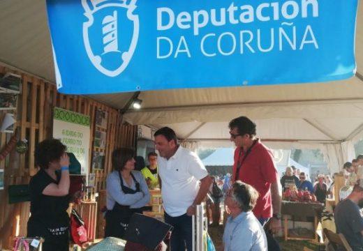 González Formoso visitou o Mercado da Deputación no Festival de La Luz