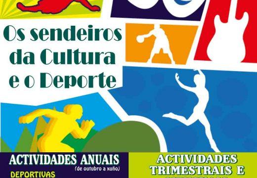 Aberto o prazo de inscrición para as actividades culturais e deportivas