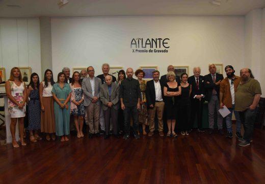 O Museo do Gravado de artes celebrou unha década de Premios Atlante