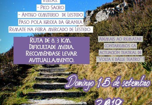 Boqueixón organiza un roteiro guiado pola contorna do Pico Sacro o 15 de setembro