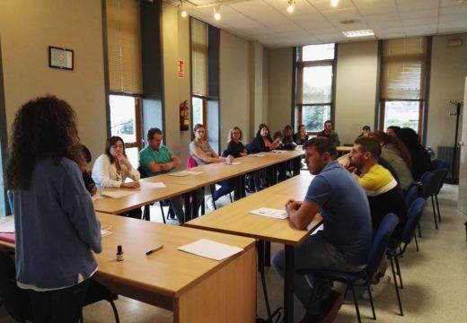 Benvida de Susana García ao alumnado do curso ESO para persoas adultas
