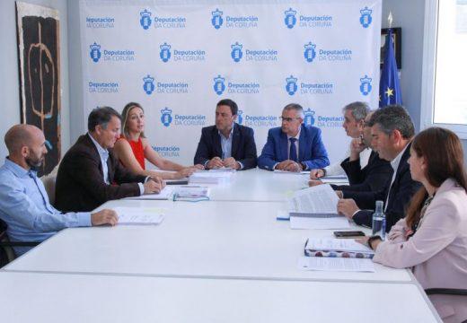 O Consorcio Provincial Contraincendios xestionará de forma directa dos dez parques comarcais de bombeiros da Coruña a partir de 2020