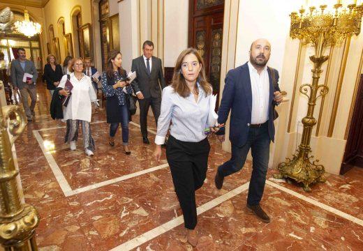 O Pleno pon en marcha a Área Metropolitana cos votos a prol de todos os grupos agás os do Partido Popular, que se abstivo
