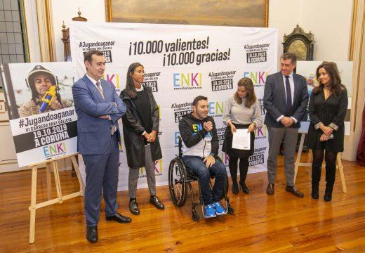 10.000 valentes gozarán este sábado da 6.ª Carreira ENKI Galicia na Coruña