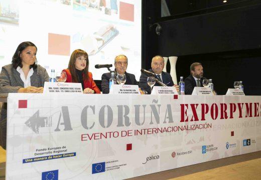 O Concello colabora na 6.ª edición de Exporpymes, o encontro de internacionalización empresarial da Coruña