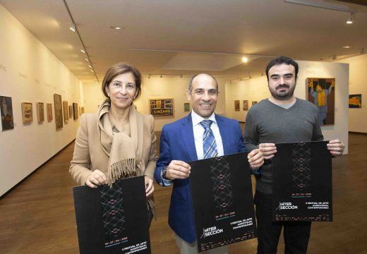 O edil de Cultura presenta a segunda edición do festival Intersección na Fundación Luis Seoane