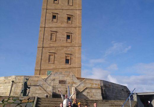 Touroperadores rusos participan nunha viaxe para coñecer os principais recursos turísticos do Camiño Inglés