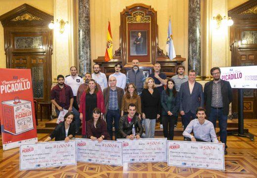 Rey e Cabanas fan entrega dos premios do XVI Concurso de Tapas Picadillo