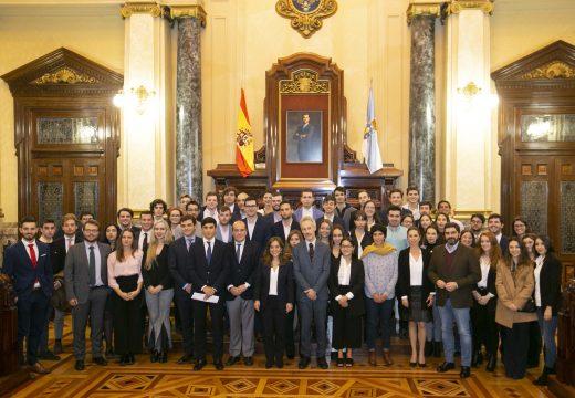 O Concello colabora no XVII Congreso Nacional de Estudantes de Dereito (CONEDE) que se realiza estes días na cidade