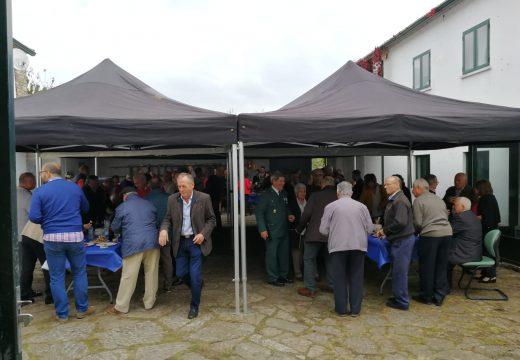 A Garda Civil de Touro celebra no cuartel de Fonte Díaz o día da súa patroa a Virxe do Pilar