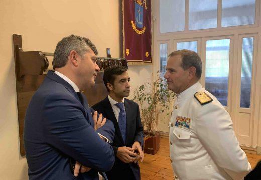 Ovidio Rodeiro participou na presentación do Cuartel Xeral da Forza de Protección da Armada no Pazo da Capitanía de Ferrol