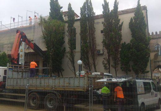 O Concello de Noia inviste case 40.000 euros na mellora do alumeado, ventilación e mobiliario do inmoble da casa consistorial