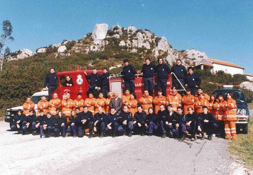 A Agrupación de Protección Civil de Boqueixón cumpre 25 anos