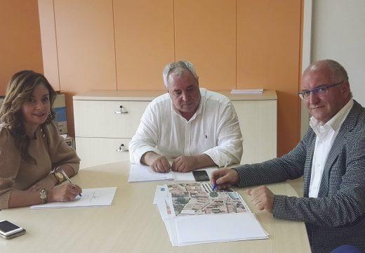 O Concello de Noia trasládalle as necesidades de melloras nos centros educativos do municipio ao xefe territorial de Educación