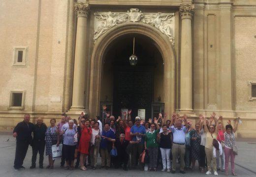 Un total de 58 veciños e veciñas de Frades fan unha viaxe de cinco días a Guipúzcoa, Lourdes, Andorra, Zaragoza e León