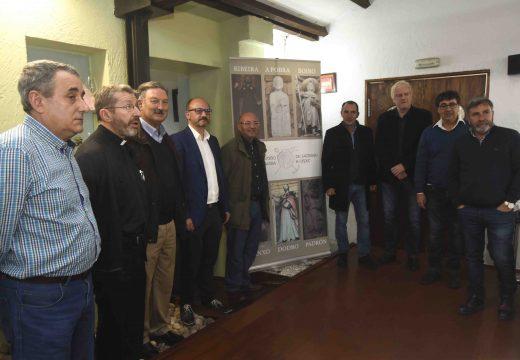 Primeira toma de contacto da Asociación Amigos do Camiño do Barbanza cos alcaldes da zona para recuperar a súa Ruta Xacobea