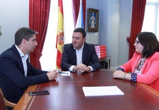 O alcalde da Baña plantea na Deputación un proxecto de ampliación e mellora da seguridade na estrada DP 0702 entre Ceilán e Lañas