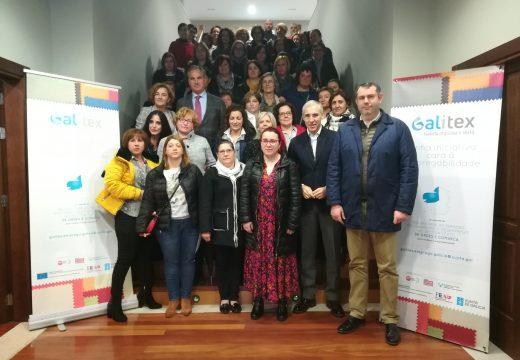 Francisco Conde clausura en Ordes o proxecto Galitex