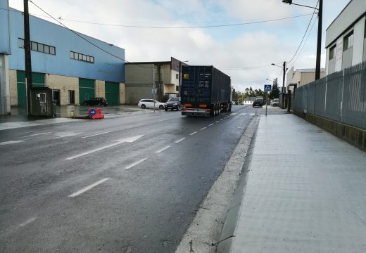 120.000 € para melloras viarias no polígono de Merelle