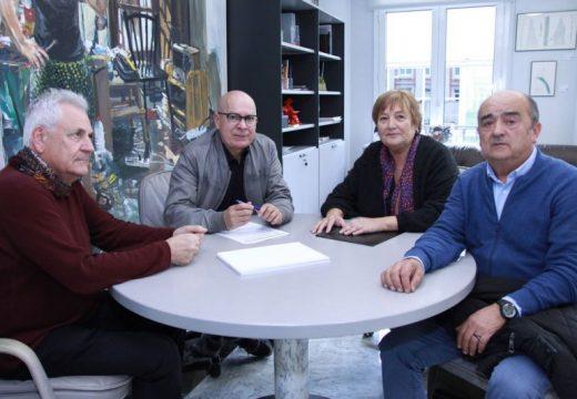 A Deputación da Coruña estudará fórmulas para colaborar na axuda alimentaria aos campamentos de persoas refuxiadas saharauís