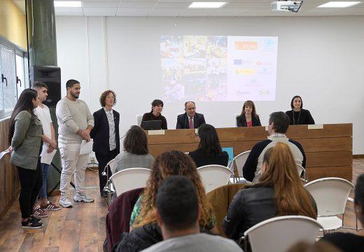 "Martínez Acón destaca iniciativas como ""Aprender traballando"" para lograr a inserción laboral de mozas e mozos de colectivos en risco de exclusión social"