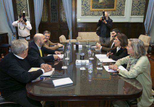 O Goberno local reúnese co grupo municipal do PP para negociar os orzamentos de 2020