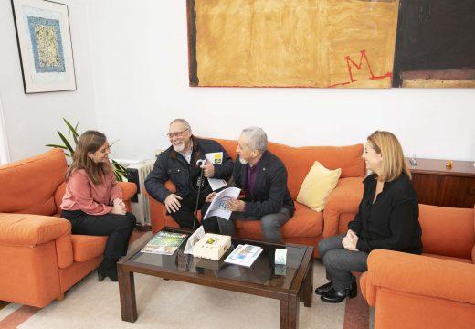 Concello e Federación de comerciantes estudan novas vías de colaboración para revitalizar o comercio de proximidade