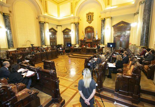 O Pleno esíxelle á Xunta que inclúa nos seus orzamentos investimentos vitais para impulsar a economía da cidade