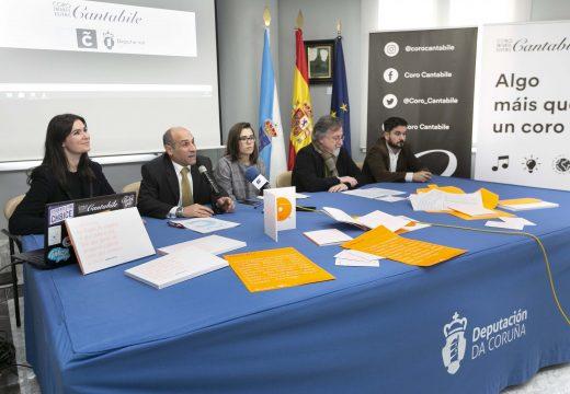 Celemín destaca o labor de Cantabile e dos compositores do país por musicar a poesía contemporánea galega