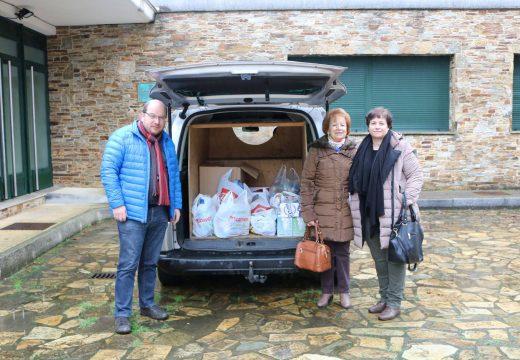 O Concello de Frades e Cáritas organizan a sexta campaña de Nadal para a recollida de alimentos para familias necesitadas