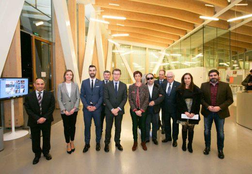 Neira destaca os 40 anos de traxectoria da FAXPG (Federación de Asociacións de Persoas Xordas de Galicia)