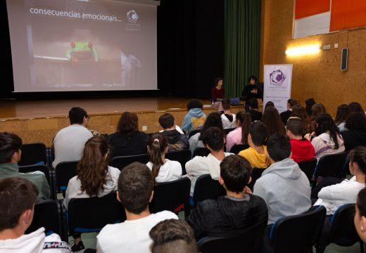 A rapazada do CPI de San Sadurniño levará adiante unha campaña nas redes en contra do ciberacoso e a violencia de xénero