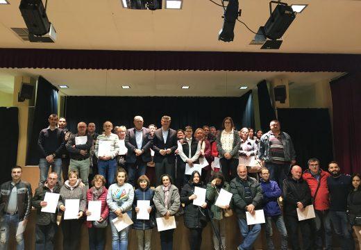 Un total de 100 desempregados da Laracha rematan a súa formación dentro dos Programas Integrados de Emprego da Xunta