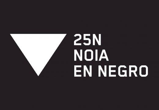 """O Concello de Noia súmase por segundo ano á campaña """"En negro contra as violencias"""""""