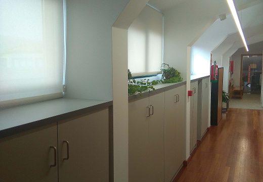 O Concello de Noia remata as obras de mellora do alumeado, ventilación e mobiliario da casa consistorial