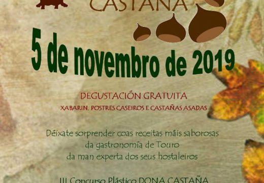 Touro celebra mañán a XI Feira da Castaña