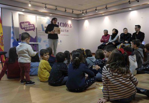 O conto como vehículo contra a Violencia de Xénero no taller e na función infantil que ofreceu Eva Mejuto no Lustres Rivas