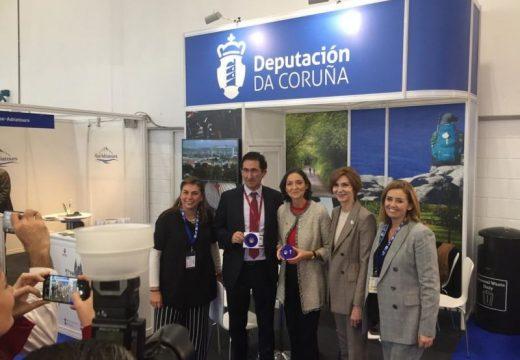 A Deputación da Coruña promociona o Camiño Inglés e o tramo Fisterra-Muxía na World Travel Market de Londres
