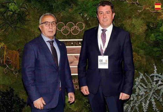 Borrego asiste en Madrid ao Congreso de Sustentabilidade no Deporte