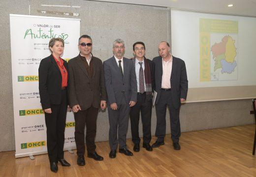 A Xunta de Galicia salienta a coordinación coa ONCE para ofrecer os mellores servizos ás persoas con dispacidade visual