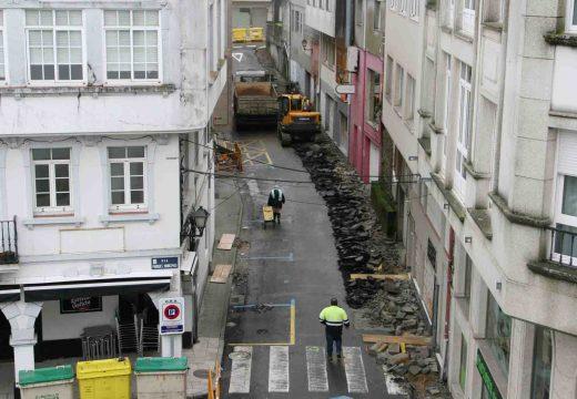 Inícianse as obras de humanizaciónda rúa Reconciliación