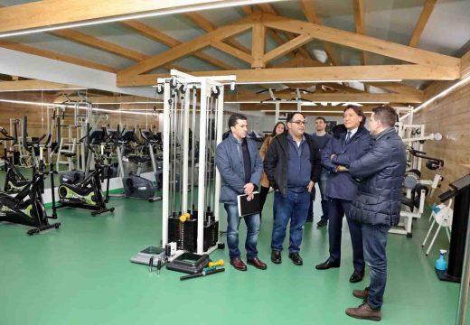 Lete Lasa inaugura a ampliación do ximnasio da piscina Municipal de Boiro levada a cabo pola Xunta cun importe de máis de 81.000 euros