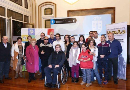 """Persoas con discapacidade representarán a obra teatral """"Eu voto porque me toca"""" este domingo no Centro Ágora"""
