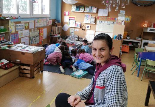 A titora da Escola Unitaria de Sergude, única candidata galega aos Premios Educa Abanca Mellor Docente 2019 na categoría de Educación Infantil