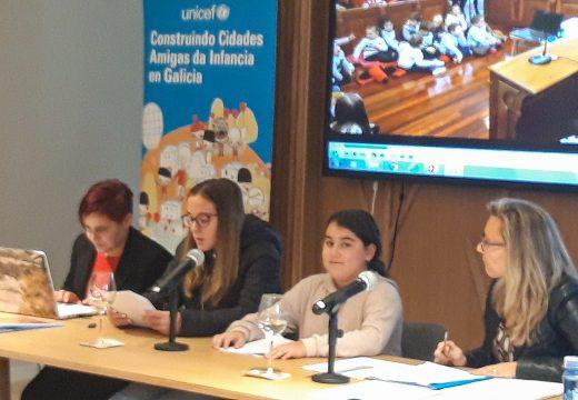 O Consello Local da Infancia e a Adolescencia de Moeche participou en Boqueixón nas III Xornadas Formativas de Cidades Amigas da Infancia