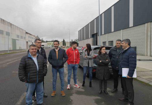 A Xunta inviste máis de 119.000€ na mellora da rede de saneamento do parque empresarial de Santa Comba